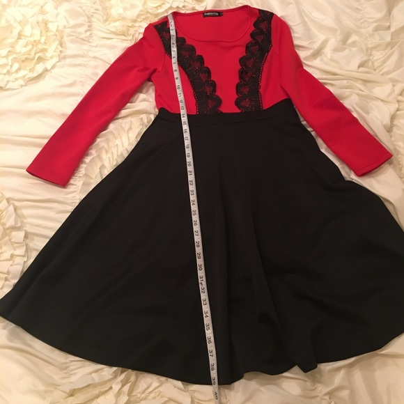 d0225ed7bef fashion Mia Dresses   Skirts -  ON HOLD  Red and Black dress